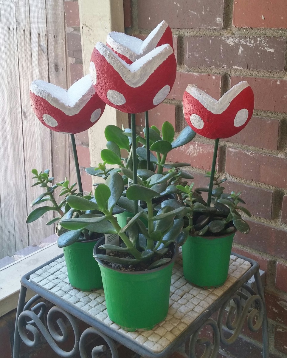 Piranha Plants Never Say Die Craftergeek